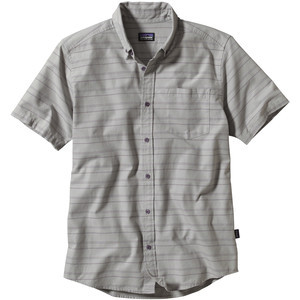 Bluffside Shirt - Short-Sleeve - Men's Limekiln/Feather Grey, XXL - Ex