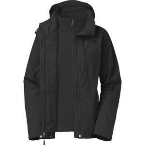 Adele Triclimate Jacket - Women's Tnf Black/Tnf Black, XS - Excellent