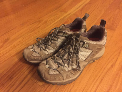 Merrell Siren Sport Women's Waterproof Hiking Shoe - Olive - Size 7.5