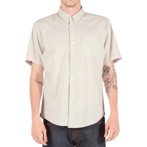 Weirdoh Faded Shirt - Short-Sleeve - Men's Frozen Bone, M - Excellent