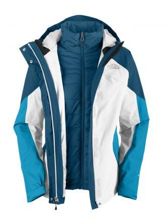 Women's North Face triclimate jacket (3-in-1)