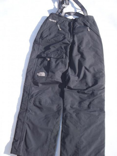 NORTHFACE HyVent Women's Small Size Black Snow Ski Board Hiking Pants