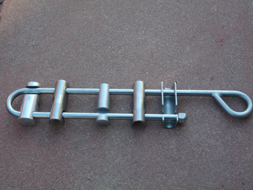 SMC Stainless Steel 6 Bar Rappel Rack