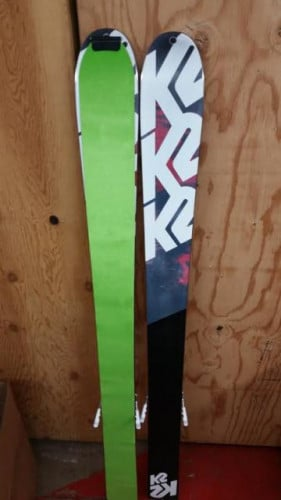 2014 K2 ANNEX 118 / SALOMON GUARDIAN 13 BINDING / POMONA PRE CUT SKINS