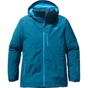 Insulated Powder Bowl Jacket - Men's Underwater Blue, M - Excellent