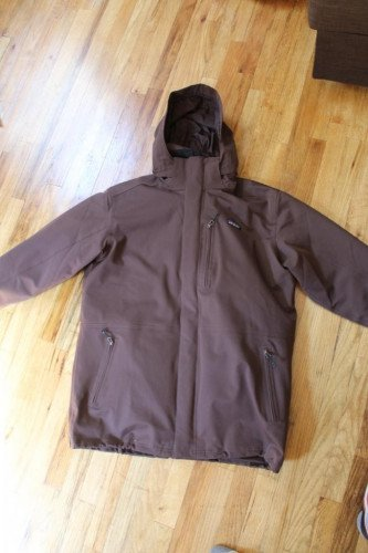 Patagonia Men's Tres 3 in 1 Down Parka XL Java Brown