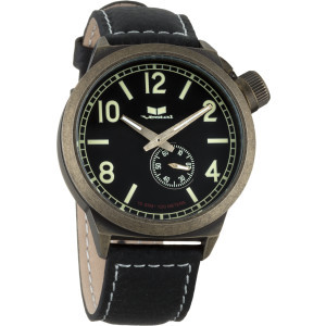 Canteen Watch Black/Antique Gold/Black, One Size - Excellent