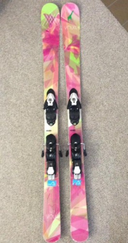 2014 Volkl Yumis (147 cm) with demo bindings