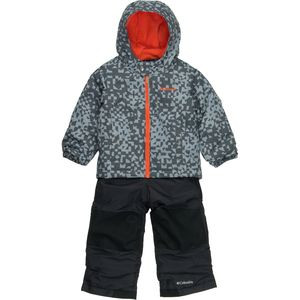 Frosty Slope Set - Toddler Boys' Tradewinds Grey Print, 4T - Excellent