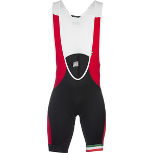 Legend Bib Shorts Black/Red, S - Excellent