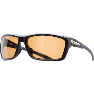 Takeoff Sunglasses - Polarized Shiny Black/Copper, One Size - Good