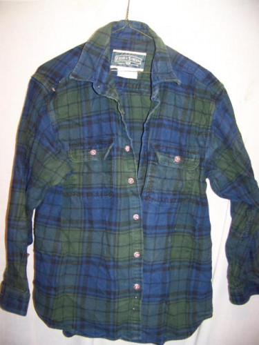 Field & Stream Heavy Cotton Flannel Shirt, XLarge