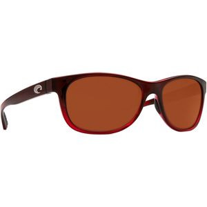 Prop Polarized Sunglasses - Costa 580 Glass Lens Pomegranate Fade/Copp