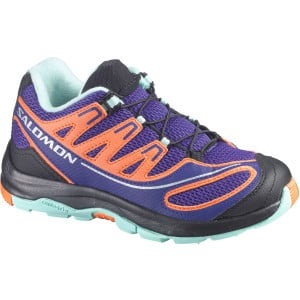 XA Pro 2 K Hiking Shoe - Girl's Spectrum Blue/G Blue/Orange Feeling, 1