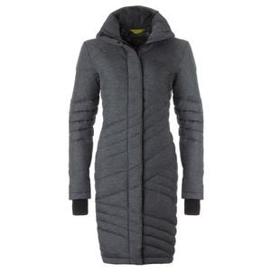 Evergreen Quilted Down Jacket - Women's Charcoal Cross-Dye, S - Excell