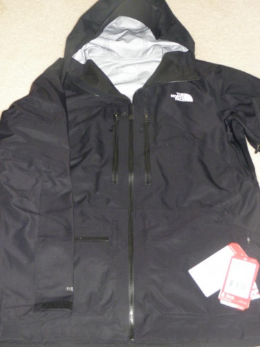 The North Face Men's Fuse Brigandine Jacket Ski Waterproof Black
