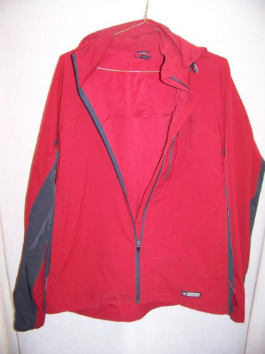 REI Hooded Stretch Softshell Jacket, Mens XLarge