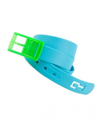 C4 Belts, Blue Belt, Green Buckle, One Size