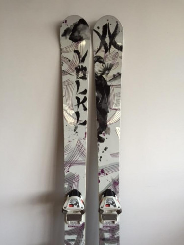 Volkl Kenja All Mountain 163 with Marker Bindings