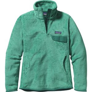 Re-Tool Snap-T Fleece Pullover - Women's Aqua Stone/Beryl Green X-dye,