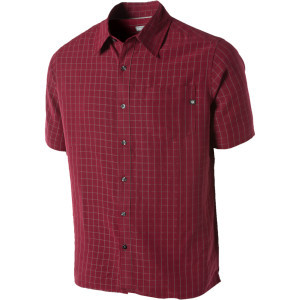 Eldridge Shirt - Short-Sleeve - Men's Brick, L - Excellent