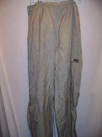 Helly Hansen Packable Rain Pants, Mens XL