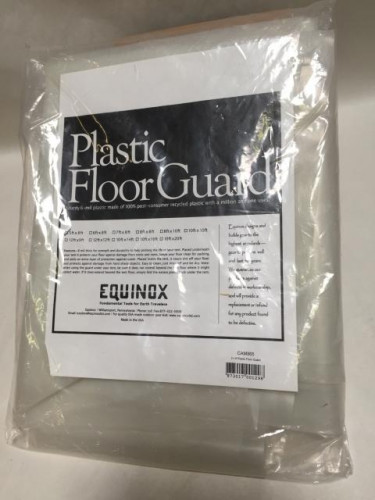 5 ft. x 8 ft. Polyethylene Ground Cloth