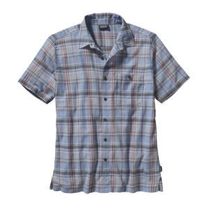A/C Shirt - Short Sleeve - Men's Santa Ana/Skipper Blue, L - Excellent
