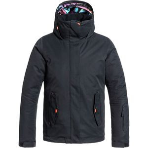 Jetty Solid Jacket - Girls' Anthracite, L(12) - Excellent