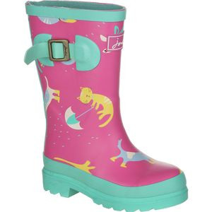 Junior Welly Boot - Girls' Raining Cats, US 4.0/UK 3.0 - Excellent