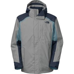 Vortex Triclimate Jacket - Men's Monument Grey/Cosmic Blue/Diesel Blue