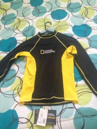 NWT Nat Geo Rash Guard Women's Medium