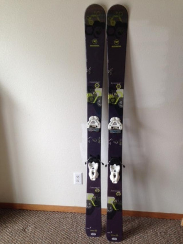 2015 Women's Rossignol Temptaion 100 Skis with 4FRNT Attack 11 Binding