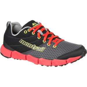 FluidFlex II Trail Running Shoe - Women's Grill/Chartreuse, 7.5 - Exce