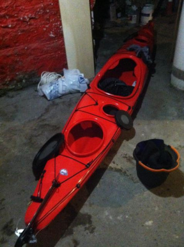 14' Wilderness Tsunami expedition-style sea kayak
