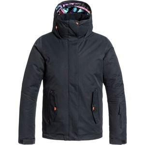Jetty Solid Jacket - Girls' Anthracite, M(10) - Excellent
