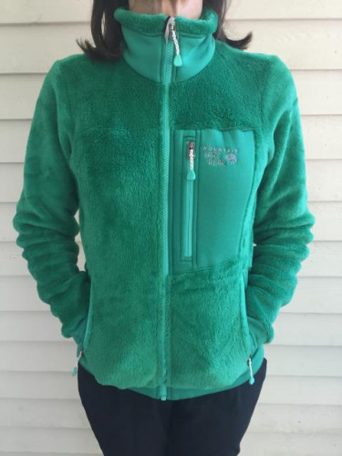 Monkey Woman 200 Fleece Jacket - Women's Emerald Green, XS - Excellent