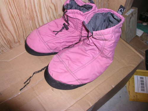 Sierra Designs Down Booties (fits 9 1/2