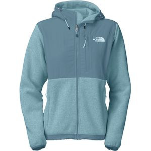 Denali Hooded Fleece Jacket - Women's Recycled Cool Blue Heather/Cool