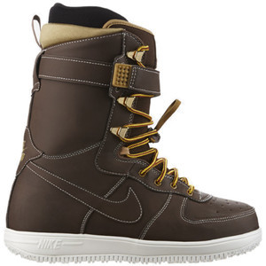 Zoom Force 1 Snowboard Boot - Men's Barkroot Brown