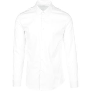 Archive Slim Fit Dress Shirt - Long-Sleeve - Men's White, S - Excellen