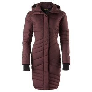 Evergreen Quilted Down Jacket - Women's Raisin, M - Good