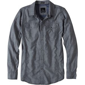 Hollis Slim Shirt - Long-Sleeve - Men's Indigo, XL - Like New