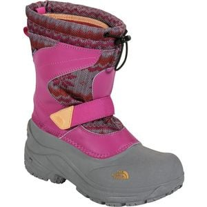 Alpenglow Pull-On Boot - Girls' Luminous Pink/Impact Orange, 4.0 - Exc