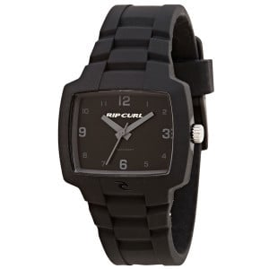 Tour Silicone Midsize Watch Black, One Size - Like New