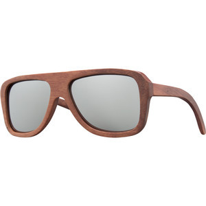 Siesta Sunglasses Red Rosewood/Silver, One Size -