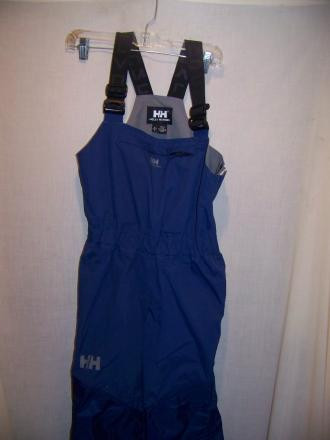 Helly Hansen Boating Rain Pants Bibs, Small