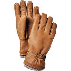 Deerskin Swisswool Rib Cuff Glove - Men's Cork, 10 - Like New