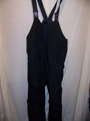Skigear Insulated Snow Ski Pants Bibs, Mens Large