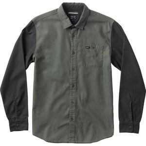Twotone Shirt - Long-Sleeve - Men's Dark Olive, M - Excellent